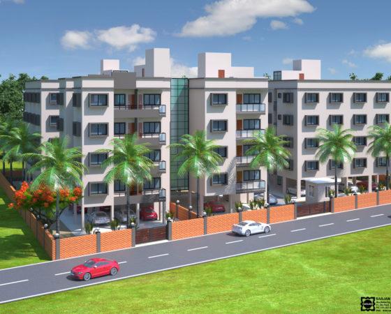 BOI Residence Quarters, Vejalpur