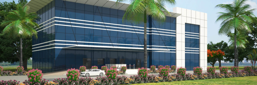 EACS Building (Green Building), ONGC- Hazira, Surat